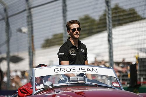 Fotogallery: lo svizzero Romain Grosjean nel Gran Premio d'Australia