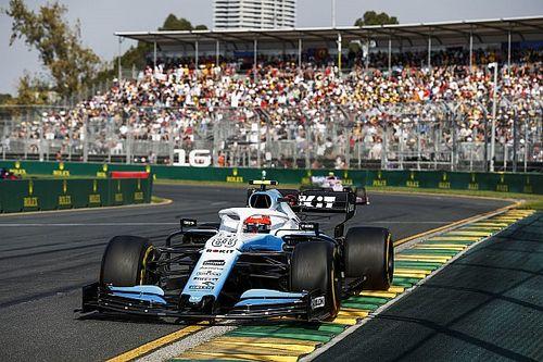 Trudny wyścig Williamsa