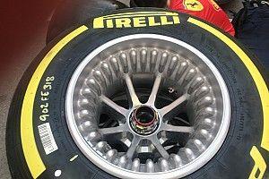 Técnica: las llantas con orificios empiezan a funcionar en Ferrari