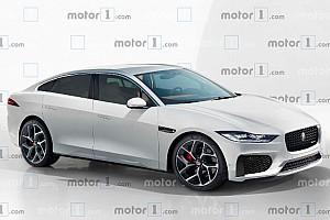 Render Jaguar XJ 2020, la nueva berlina de superlujo
