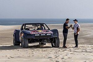 Vídeo: Al Attiyah le hace pasar un mal rato a Lorenzo en las dunas de Qatar