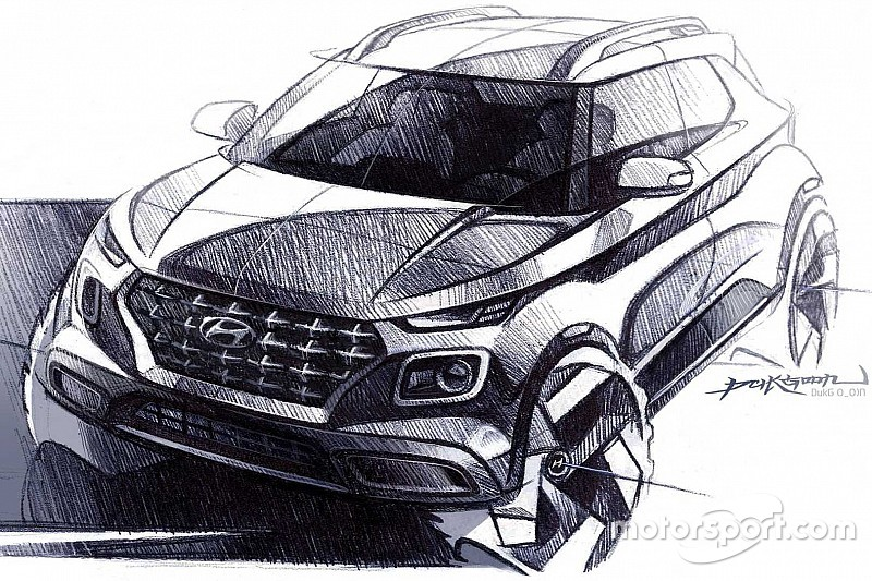 Новий кросовер від Hyundai з'явився на дизайнерських малюнках