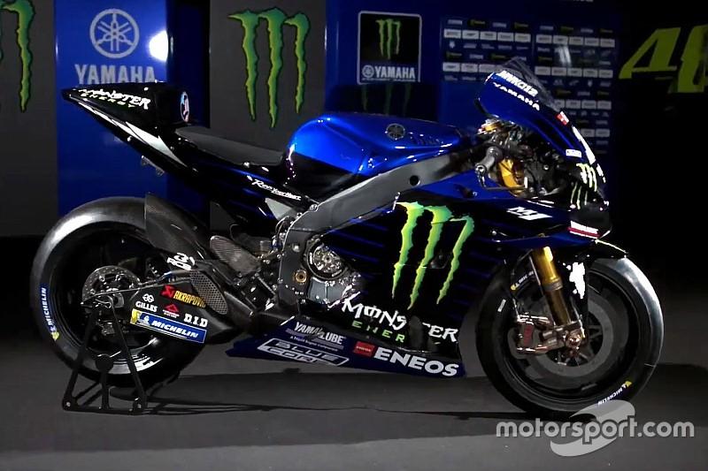 Fotogallery: ecco la Yamaha M1 2019 con la nuova livrea Monster Energy