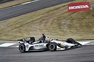 Barber IndyCar: Rahal leads Rossi in warm-up