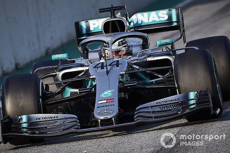 Changer d'aileron avant prendrait des mois selon Mercedes