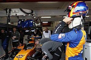 """Sainz termina satisfecho a pesar de un día """"más complicado"""""""