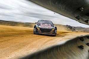 Portugal WRX: Hansen leads Gronholm after Saturday's running