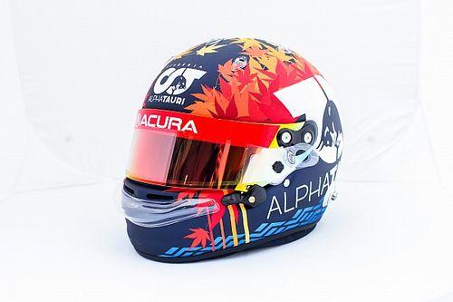 2年ぶりF1アメリカGP、特別ヘルメット多数登場。角田裕毅は日本GP投入予定だった鮮やか紅葉デザイン