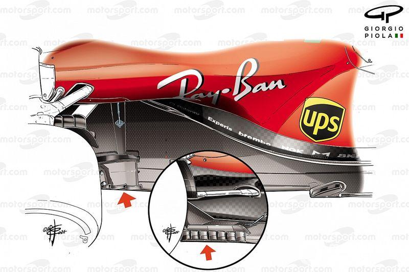 Ferrari: niente fondo modificato, ma un diverso diffusore