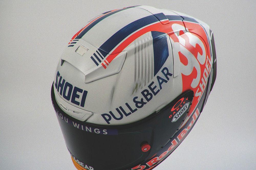 Marc Márquez avrà un casco speciale retrò per il GP di Germania
