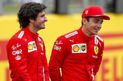 """""""Ananas op een pizza?!"""" Leclerc en Sainz beantwoorden jouw vragen"""