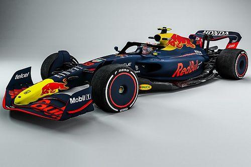 Foto's: Red Bull geeft voorproefje van eigen livery op F1-auto 2022