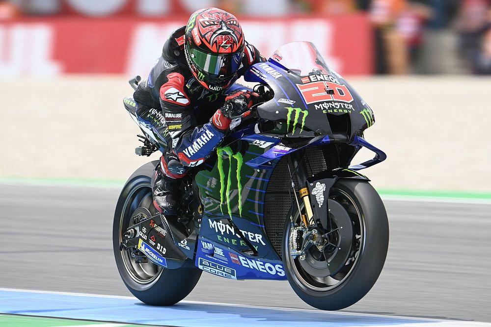 """Quartararo """"needs to be clever"""" battling Vinales in Assen MotoGP race"""
