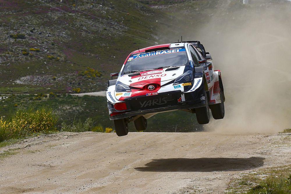Elfyn Evans retrouve le sourire en s'imposant au Rallye du Portugal