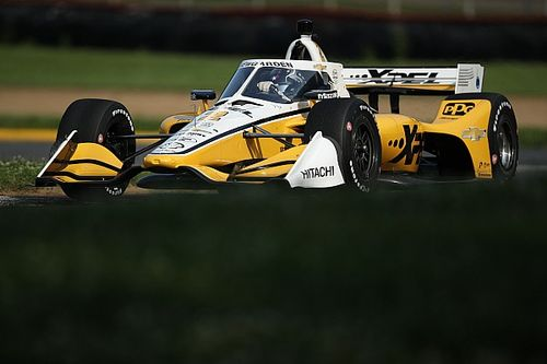 Newgarden was calculating grip loss to win at Mid-Ohio