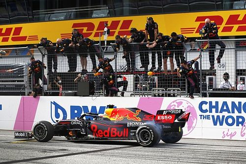 Red Bull warned over Verstappen's F1 victory burnout