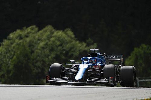"""Alonso enchaîne, Ocon """"n'arrivait pas à suivre le rythme"""""""
