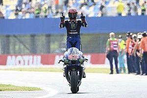 Assen MotoGP: Quartararo scores dominant win ahead of Vinales
