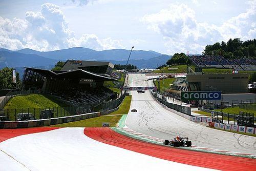 Weerbericht F1 Grand Prix Oostenrijk: Niet warm en kans op buien