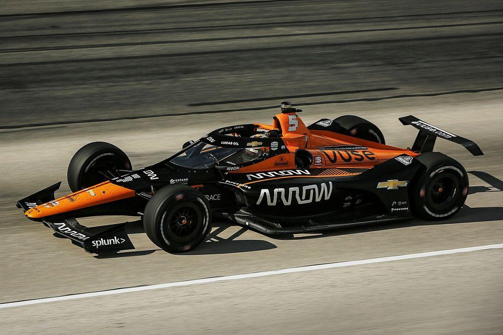 O'Ward won't push for McLaren F1 switch, 'heart in IndyCar'