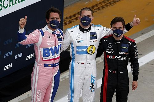 Monza DTM: Abril on pole, Mercedes locks out top four