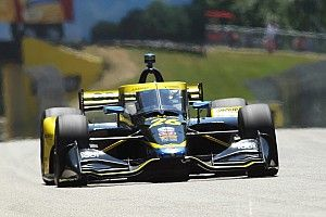 Adapting driving style, fast stops earn Herta second place