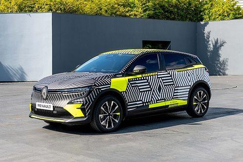 Renault MéganE : les photos du prototype