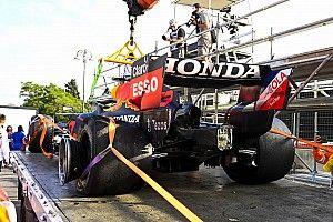 Pirelli: Klapbanden waarschijnlijk door rommel op de baan