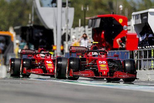 """Sainz: """"Ferrari, İspanya'daki virajlarda en hızlı üçüncü takımdı"""""""