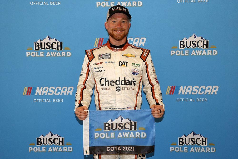 Tyler Reddick takes surprise NASCAR Cup Series pole at COTA