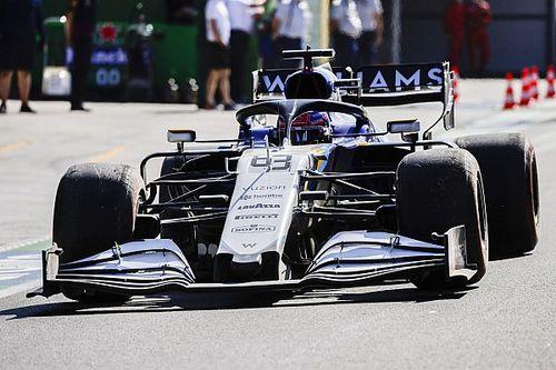 Williams explica la causa del accidente de Russell en Q2