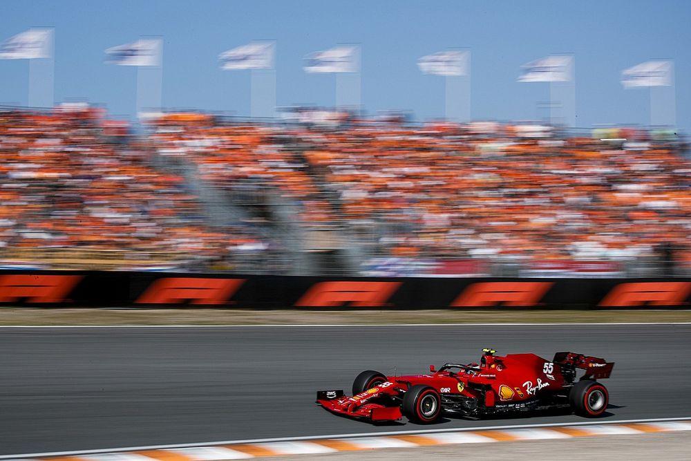 Sainz ve Ferrari, zorlu Hollanda GP'nin ardından cevaplar arıyorlar