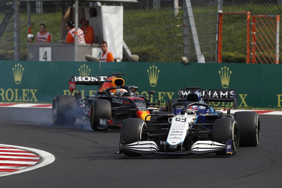 George Russell surprised by tears over first F1 points for Williams