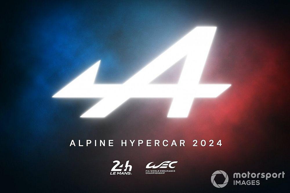 Alpine anuncia que competirá en el WEC con un LMDh