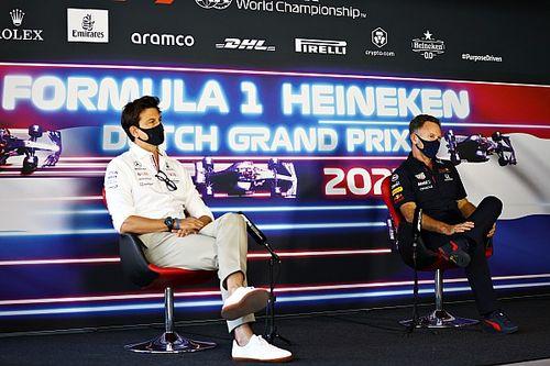 """Horner: """"Respect voor Mercedes, maar heb verder niets met ze"""""""