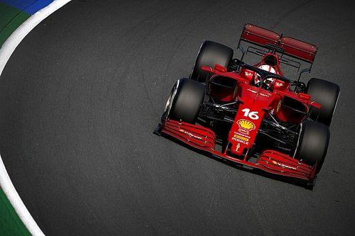 Dutch GP: Leclerc fastest in FP2 as Hamilton hits trouble