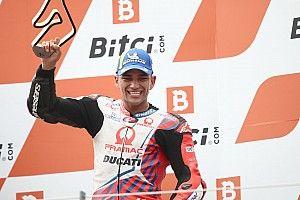 初優勝よりもハッピー! ホルヘ・マルティン、初フラッグ・トゥ・フラッグで3位に喜びひとしお