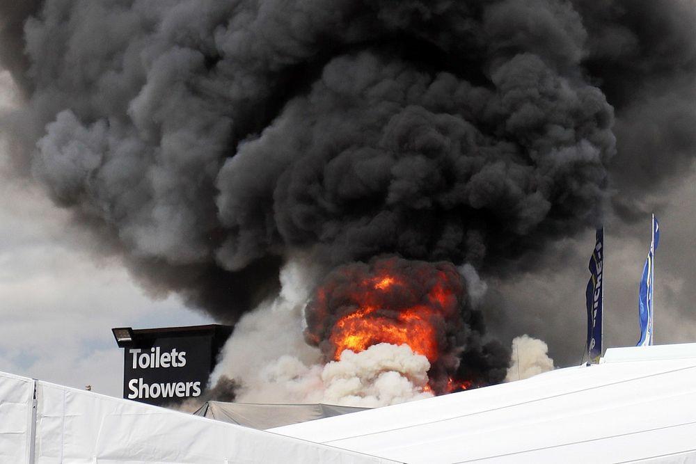 Ginetta team boss offers thanks after Snetterton fire