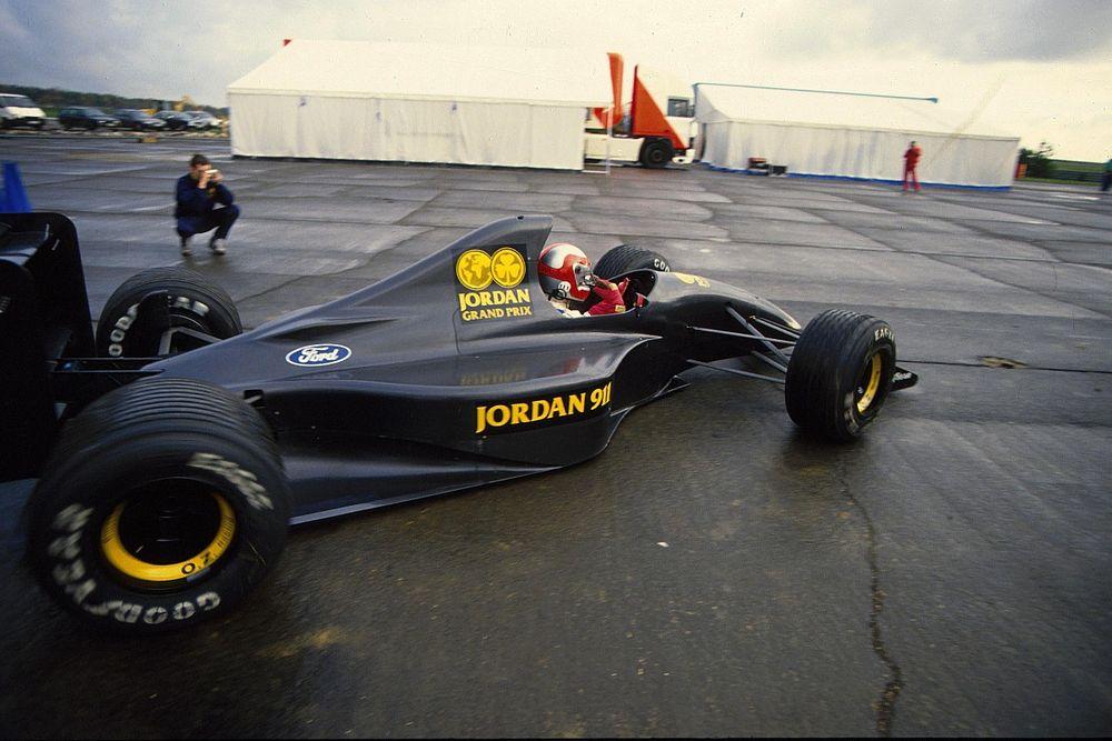 The forgotten F1 comeback that began Jordan's odyssey