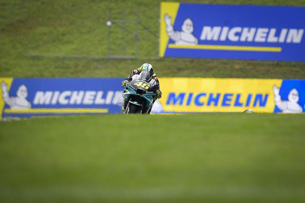"""Rossi considera que """"Pedrosa parece que no hubiera dejado de correr"""""""