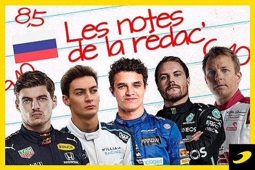 Les notes du Grand Prix de Russie 2021