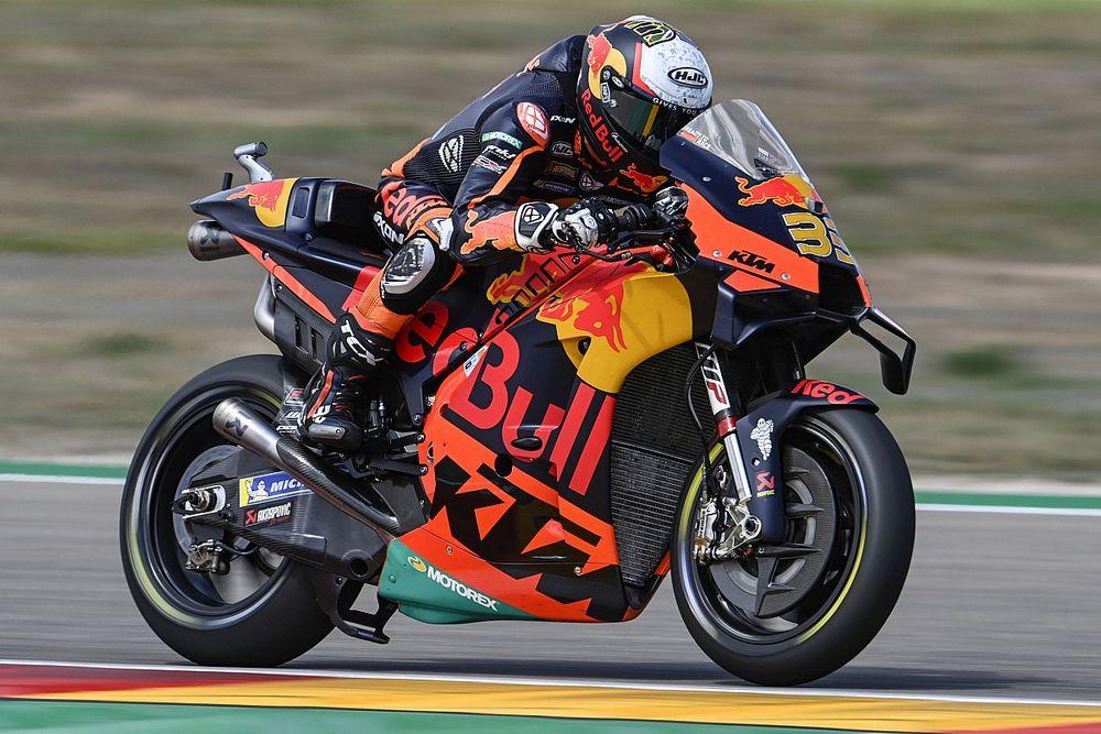 Brad Binder Akui Sasis Baru KTM RC16 Masih Memerlukan Uji Coba