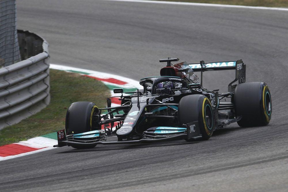 Hamilton le gana la FP1 a Verstappen en Monza