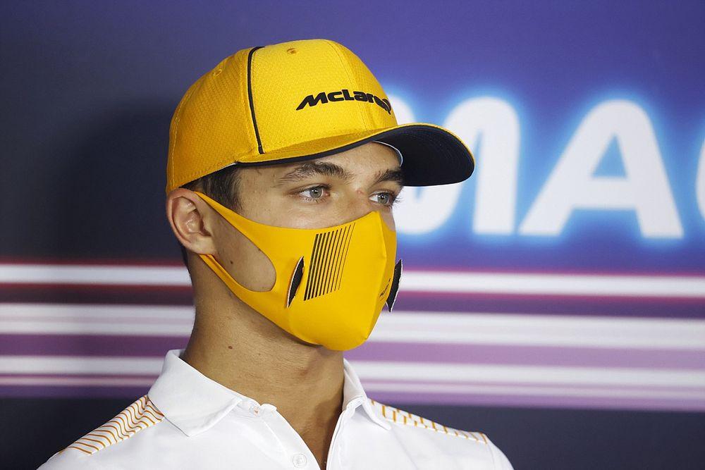 Norris Ricciardóról: Sainz és Alonso már felvette a ritmust...