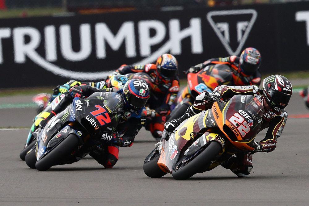 Sam Lowes Berjuang Keras Sepanjang Moto2 Inggris