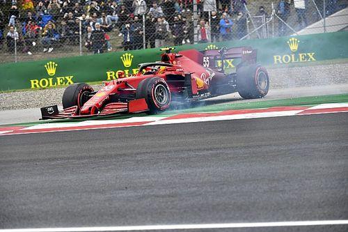 Sainz fue un jugador de equipo para Ferrari en la clasificación