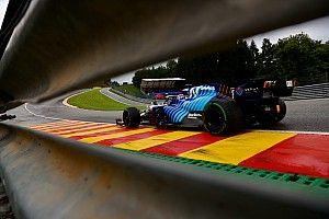 Volledige startopstelling voor F1 Grand Prix van België