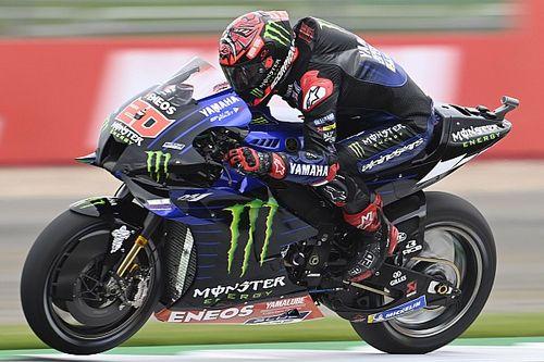 "Quartararo ""not comfortable"" on way to Silverstone MotoGP front row"