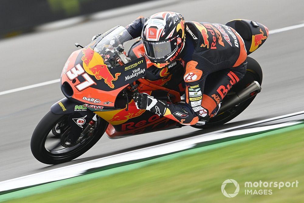 Pedro Acosta Lega Bisa Raih Poin di Moto3 Inggris