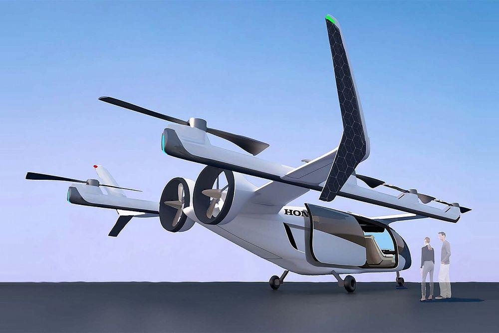ホンダ、新領域への取り組みを発表。F1のMGU技術がeVTOLに活きる? 他にもアバターロボや月面&宇宙への挑戦も